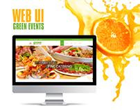 WEB UI GREEN EVENTS