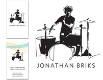 Jonathan Briks Logo and Business Cards