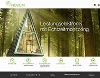 Novum Website