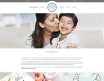 Website design for Halal Celebrate - London
