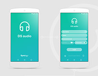 DS Audio App Concept | 2108