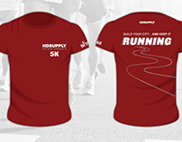 orlando corporate 5K race, t-shirt designs