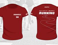 orlando corporate 5K race, t-shirt designs