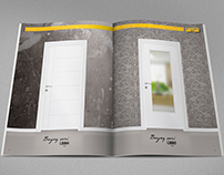 Door Brochure Cover and Layout Graphic Design