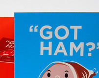 """GOT HAM?"" - A study of the Gotham type-face"