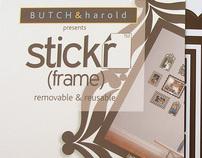 BUTCH & harold | stick'r