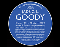 English Contemporary Heritage (Fake Blue Plaques)