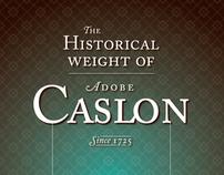 Campaign Adobe Caslon