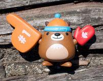 Vancouver 2010 Mascot Vinyl Toys