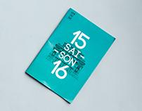 Catalogue 2015-2016 pour le théâtre du Châtelet
