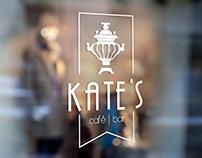 KATE'S Cafe Branding