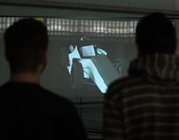 Interaktívna holografia (interactive holography)