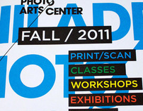 Philadelphia Photo Arts Center | Fall Mailer