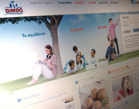 Rediseño website Bimbo México