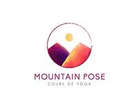 Logo Mountain Pose