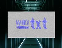 Wiki Text