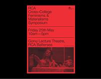 RCA Feminisms & Materialisms Identity