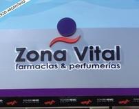 Diseño Varios - Zona Vital farmacias y perfumerias