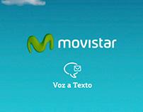 Movistar - Voz a Texto - Pieza para cine.