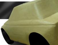 Hillman Imp Clay Model