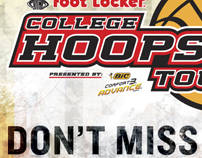 Footlocker College Hoops Tour promotion Poster