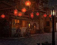 China Town Environment