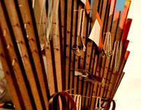 RETAIL FURNITURE- musical instrument display unit