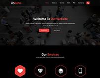 Askara Design- 2 - One Page PSD Website