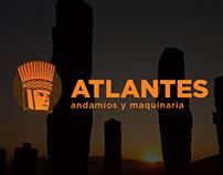 Andamios Atlantes Branding