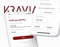 KRAVIA — app