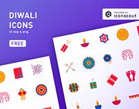 Freebie!! Diwali Icons