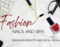 Brand Identity: Fashion Nails and Spa