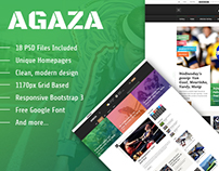 SJ Agaza -  Responsive Joomla Template for News website