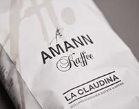 Amann Kaffee - Verpackungsdesign Estate-Sorten