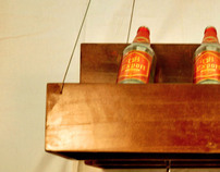 RETAIL FURNITURE - Display unit for alcohol