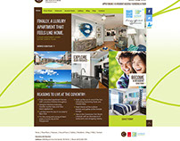 The Coventry At Cityview Website Concept UI UX