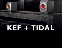 Kef LS50 Wireless + TIDAL Campaign
