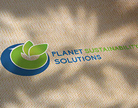 Planet Sustainability Solutions Branding