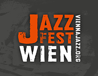 JAZZ FEST WIEN – New Design since 2007