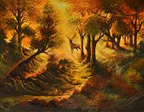 acrylic painting 70x40