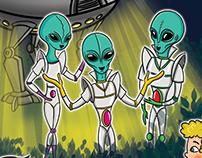 Ah Şu Uzaylılar - Canan Tan - Doğan Egmont