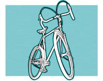 Bicycle Ink Drawings