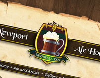 Newport Ale House Website