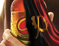 """__A toast to independence__"" Cerveja Cuca Angola, TBWA"