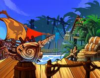 The Pirate King (iphone /ipad /facebook)