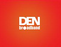 Den broadband Fastest website
