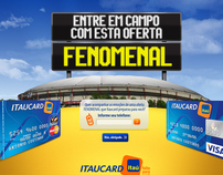 Itaucard - Proposta Hotsite Futebol