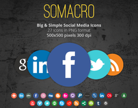 Somacro - Social Media Icons