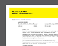 Event Application Redesign