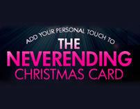 HP Never-ending Christmas Card